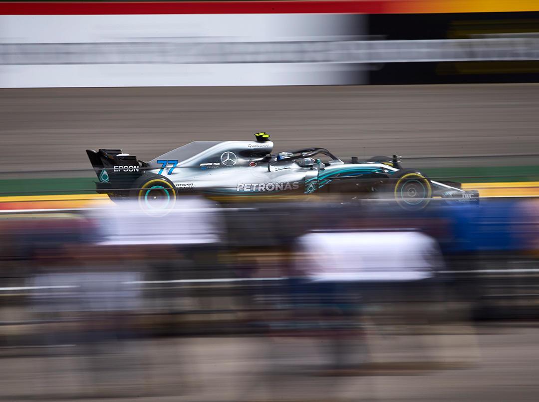 2018年F1第13戦ベルギーGP バルテリ・ボッタス(メルセデス)