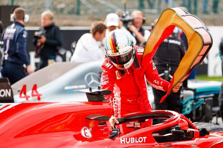 F1 | ベッテル「チーム全体が混乱し、肝心なラップをまとめられなかった」:F1ベルギーGP土曜