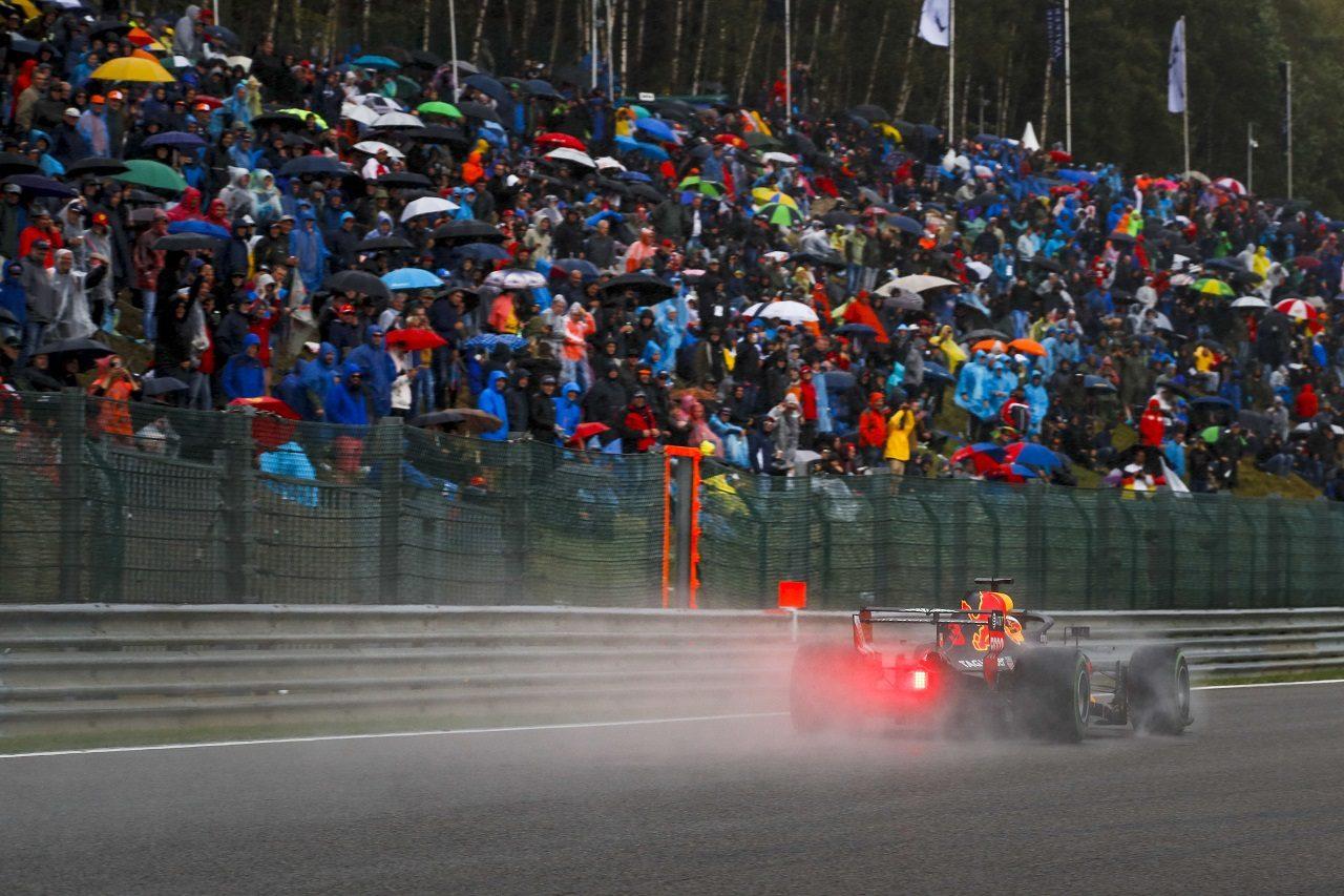 2018年F1第13戦ベルギーGP ダニエル・リカルド(レッドブル)