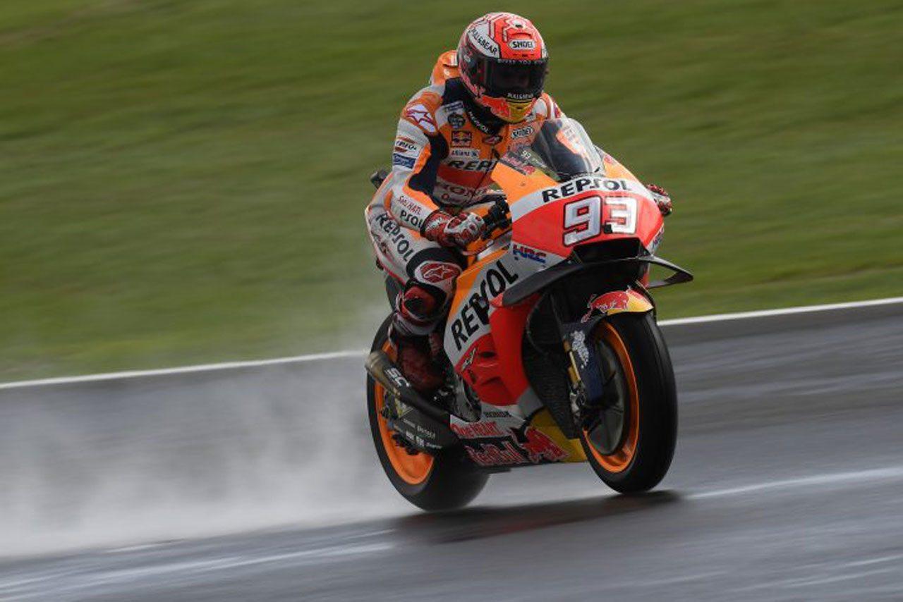 MotoGPイギリスGPの決勝スタート時間が変更。天候悪化と安全面を考慮のため