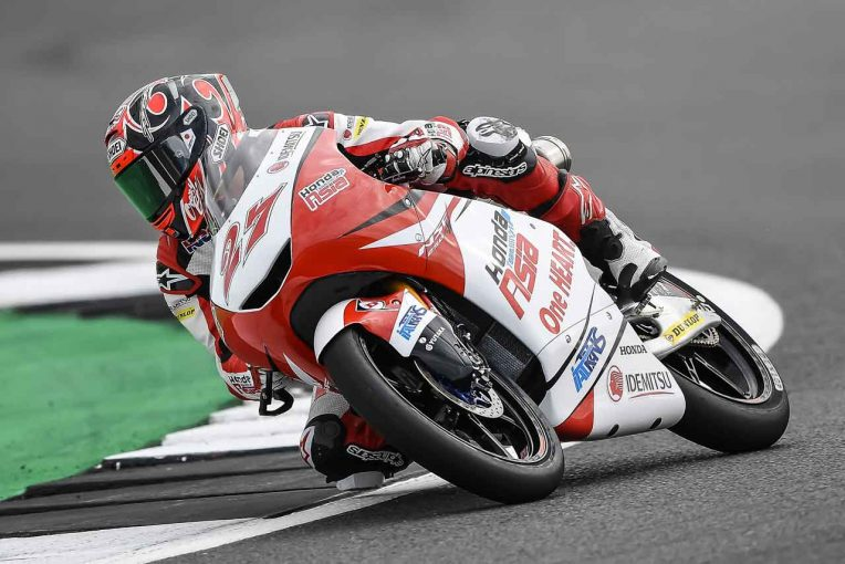 MotoGP   ホンダ・チーム・アジア 2018MotoGP第12戦イギリスGP 予選レポート