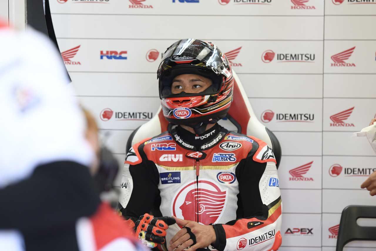 MotoGP:中上、ウエットに翻弄されシルバーストン予選を19番手で終える