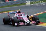 F1 | 【ブログ】Shots!逆境を跳ねのけたフォース・インディアの快挙/F1第13戦ベルギーGP