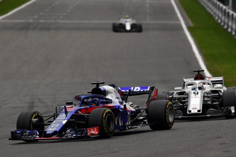 F1   トロロッソが9位入賞。ホンダ田辺TD「ライバルたちとバトルをし、パワーユニットのパフォーマンスを示せた」:F1ベルギーGP日曜