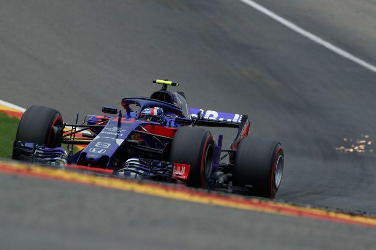 2018年F1第13戦ベルギーGP決勝 ピエール・ガスリー