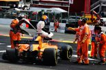 """F1   アロンソ、大アクシデントに巻き込まれリタイア「全員無事だったことだけが救い。""""ハロ""""がルクレールを守ってくれた」F1ベルギーGP日曜"""