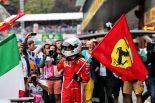 F1 | ベッテルがシーズン5勝目「アップグレード版エンジンの力もあり、ハミルトンに勝つことができた」:F1ベルギーGP日曜