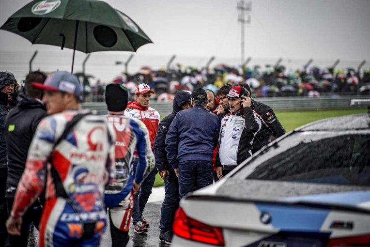 MotoGP   MotoGP:中上、イギリスGP決勝中止について、残念だが「安全への配慮が最優先」