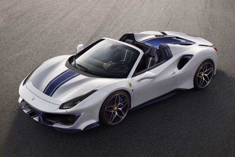 クルマ | フェラーリ、50代目のオープンモデル『488ピスタ スパイダー』を世界初披露