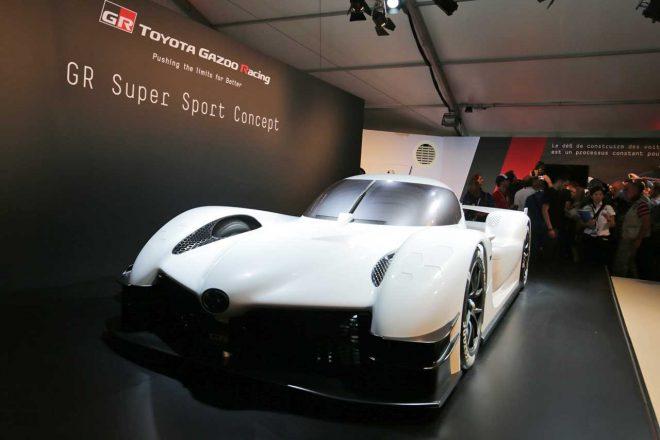 東京オートサロン2018に続き同年のル・マンで披露されたGRスーパースポーツコンセプト