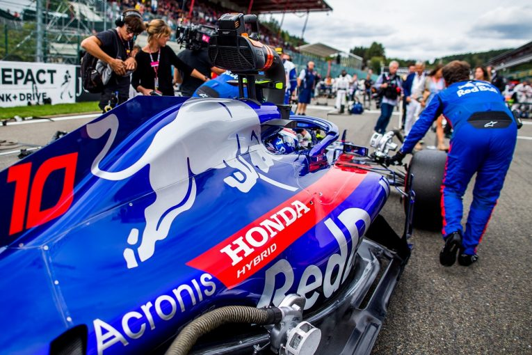 F1 | ガスリー、ベルギーGPでホンダPUの向上を実感「ザウバー・フェラーリを抑え切ったことからも進歩は明らか」
