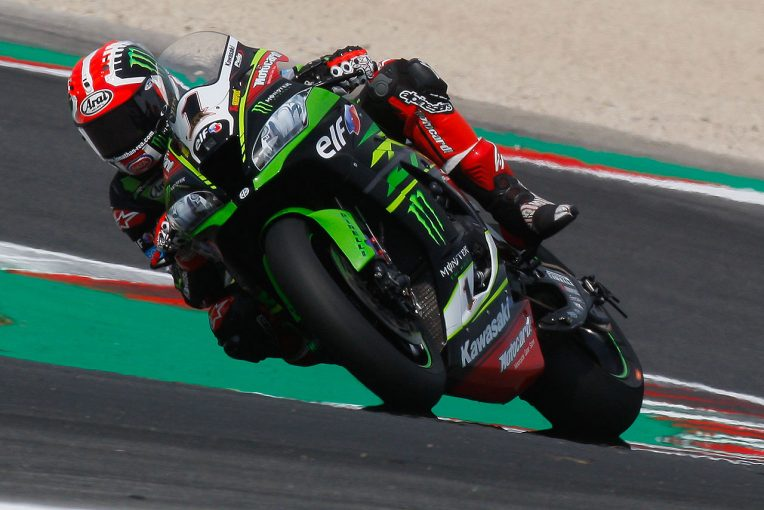 MotoGP   カワサキの世界初公開ニューマシンを駆り、SBK王者レイが全日本ロード第7戦オートポリスでデモラン実施