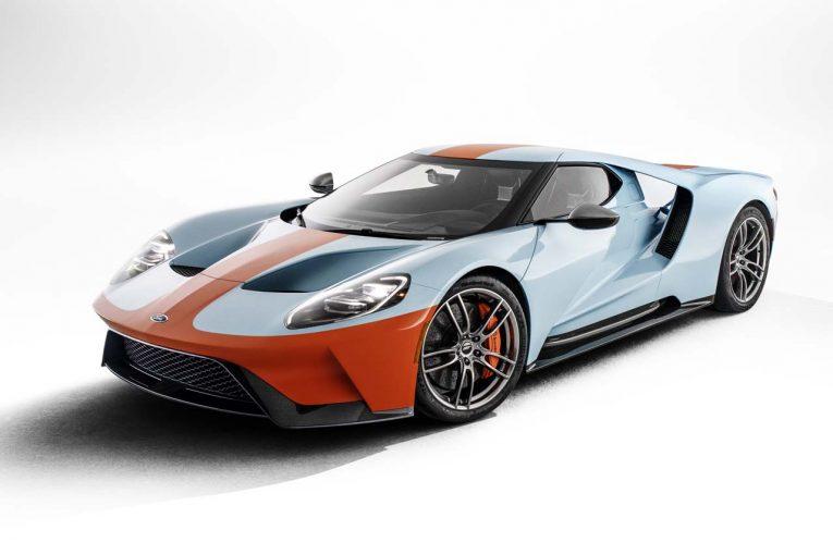 クルマ | ル・マン2連覇達成の名車、GT40をトリビュート。『フォードGT ヘリテージ・エディション』登場