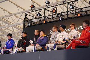 TOYOTA GAZOO Racing FESTIVAL 2017の様子