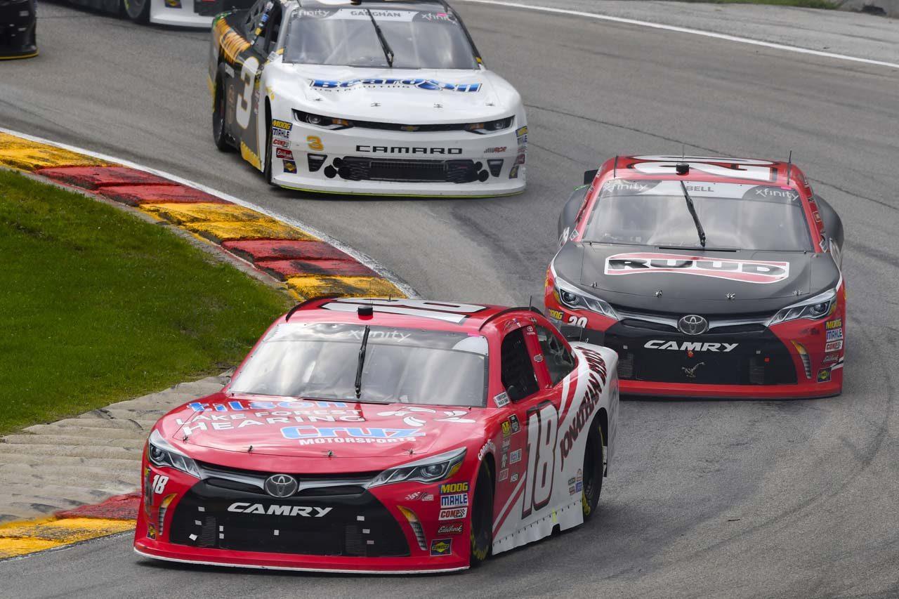 NASCARエクスフィニティ・シリーズ:TOYOTA GAZOO Racing 2018年第23戦ロード・アメリカ レースレポート
