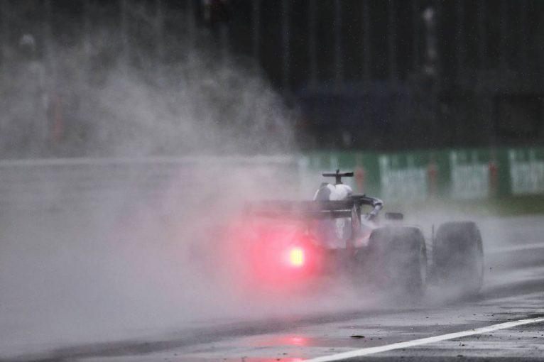 F1 | F1イタリアGP FP1:ウエット路面の中ペレスがトップ。トロロッソ・ホンダは4、6番手
