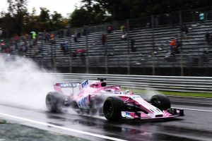 2018年F1第14戦イタリアGP FP1:セルジオ・ペレス(フォース・インディア)