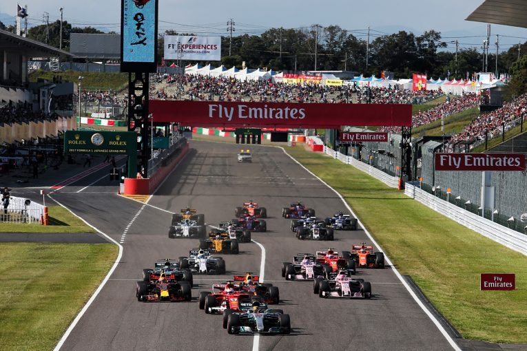 F1 | 2019年F1暫定カレンダーが発表。21戦開催で12月に閉幕、日本GPは10月13日に