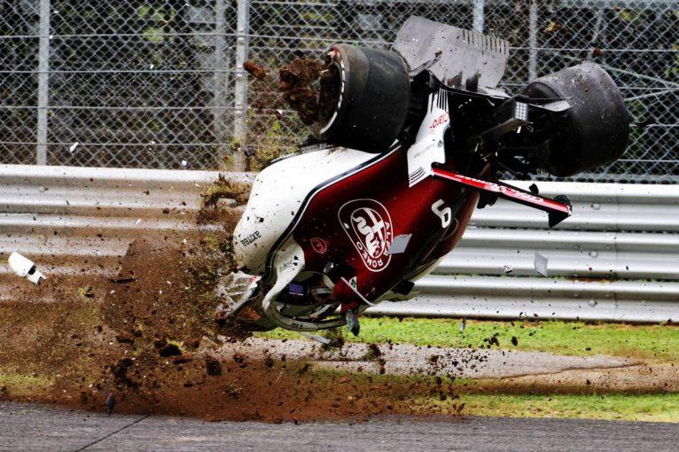 F1 | F1イタリアGP FP2:フェラーリ勢が1-2、エリクソンのマシンが宙を舞う大クラッシュ