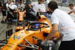 F1   アロンソ「チャンスが見込めるシンガポールに向けてテストを行った」:F1イタリアGP金曜