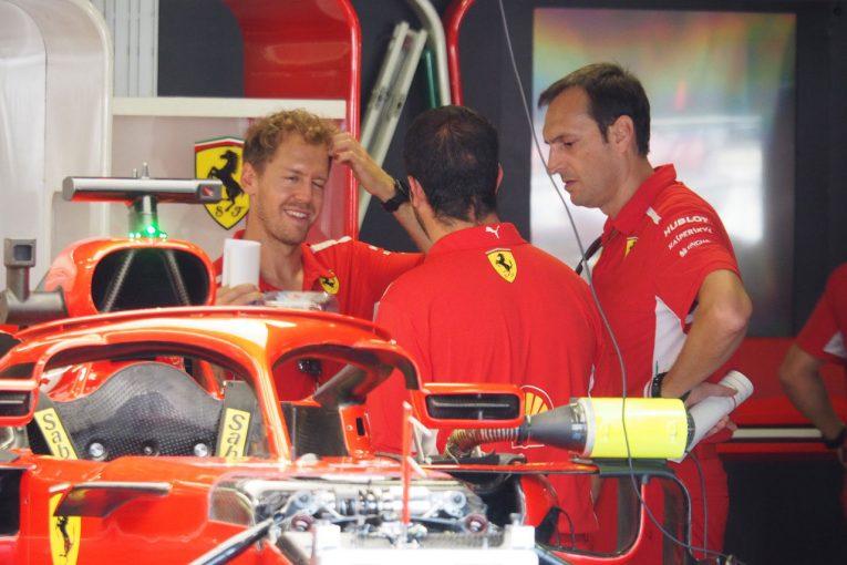 Blog   【ブログ】地元レースでスタッフを鼓舞するベッテルの人心掌握術/F1イタリアGP現地情報