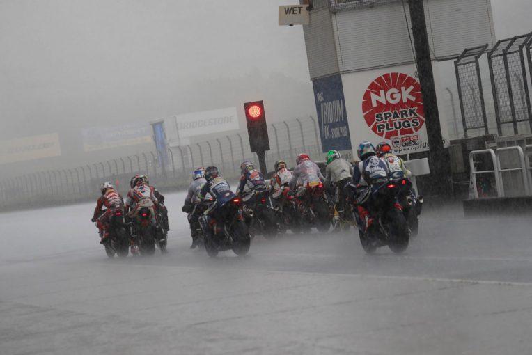 MotoGP   JSB1000のレース1が悪天候により中止に/全日本ロード第7戦オートポリス