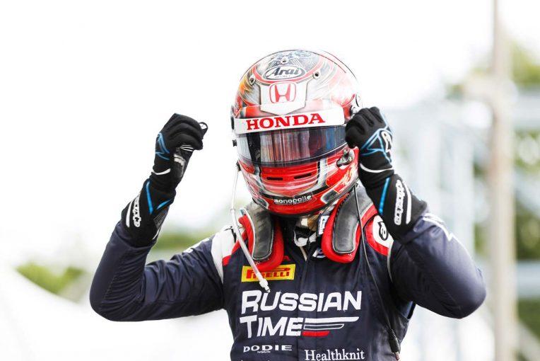 海外レース他 | FIA F2第10戦イタリア レース1:牧野任祐が14番手スタートから初優勝! チームは1-2フィニッシュを飾る
