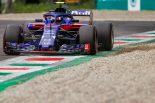F1   トロロッソ、予想外のQ3進出を喜ぶ「優れた直線スピードを発揮。決勝でも好結果が期待できる」:F1イタリアGP土曜