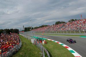 2018年F1第14戦イタリアGP ピエール・ガスリー
