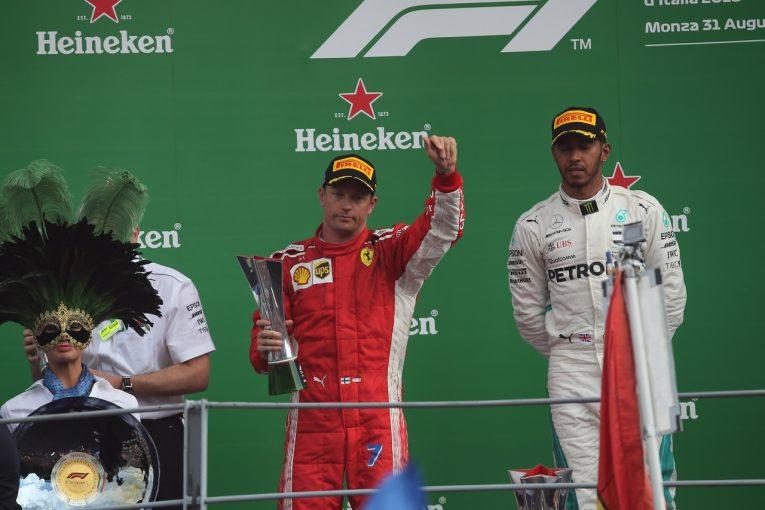 F1 | ライコネン、タイヤに苦しみ勝利を逃す「ファンのみんな、勝てなくてごめん。また次、頑張るよ」:F1イタリアGP日曜