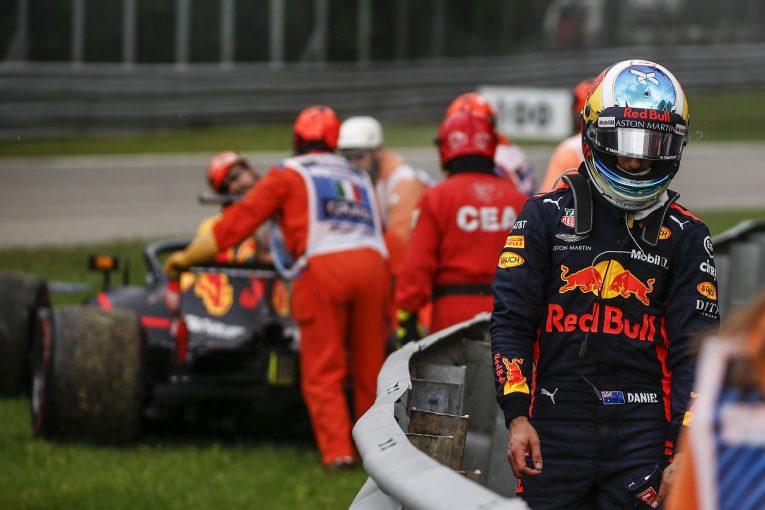 F1 | リカルド、トラブルでリタイア「悔しいレースが続く。新型エンジンが無事らしいのはよかったが」:F1イタリアGP日曜