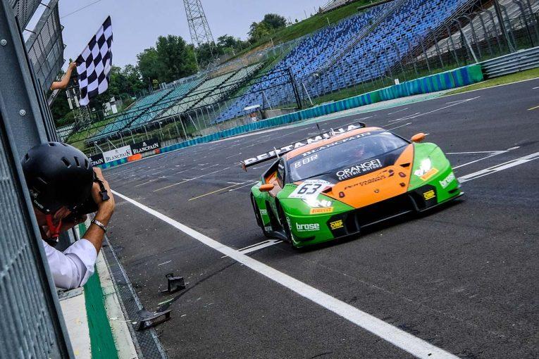 予選5番手からロケットスタートを決めて優勝したGRTグラッサー・レーシング・チームの63号車ランボルギーニ・ウラカンGT3