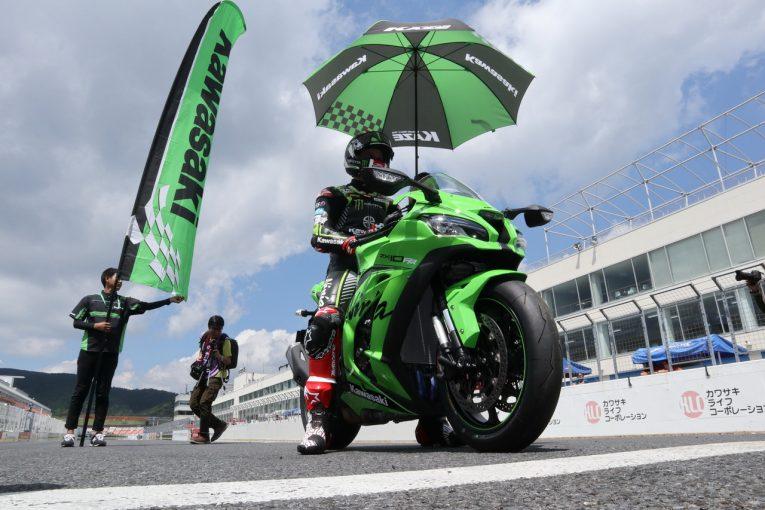 MotoGP   SBK王者ジョナサン・レイがオートポリスに登場。カワサキの新型ニンジャZX-10RRを走らせる