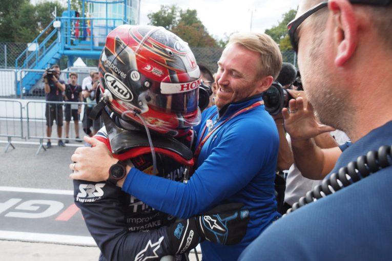 Blog | 【ブログ】牧野任祐が日本人で初めてF2のレース1を制する快挙/F1イタリアGP現地情報2回目