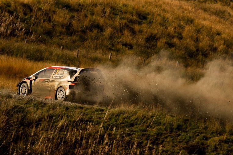 ラリー/WRC | WRC:2018年未勝のトヨタ・ラトバラが優勝射程圏。「ハードに攻めたらフィーリングが改善」