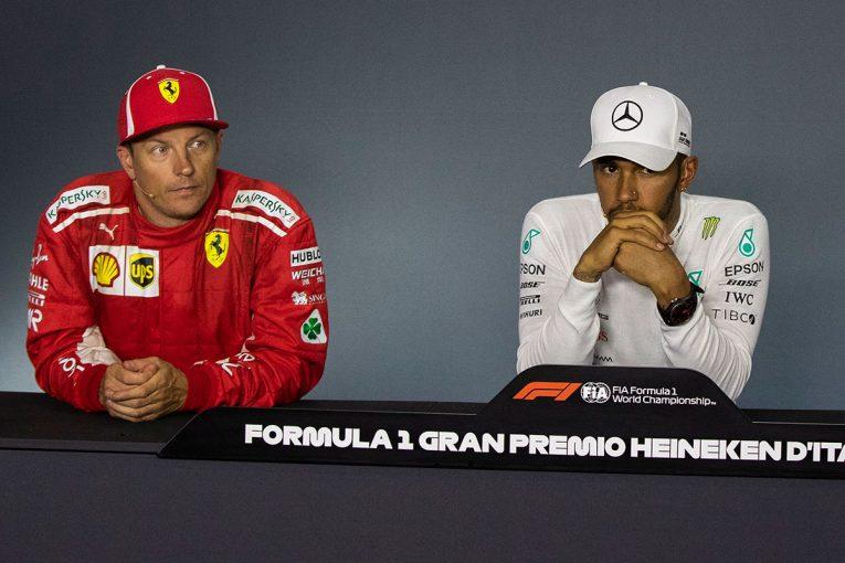 F1   F1 Topic:ハミルトン、ライコネンの思い出を語る「もし引退したらF1界全体が寂しさを感じると思う」