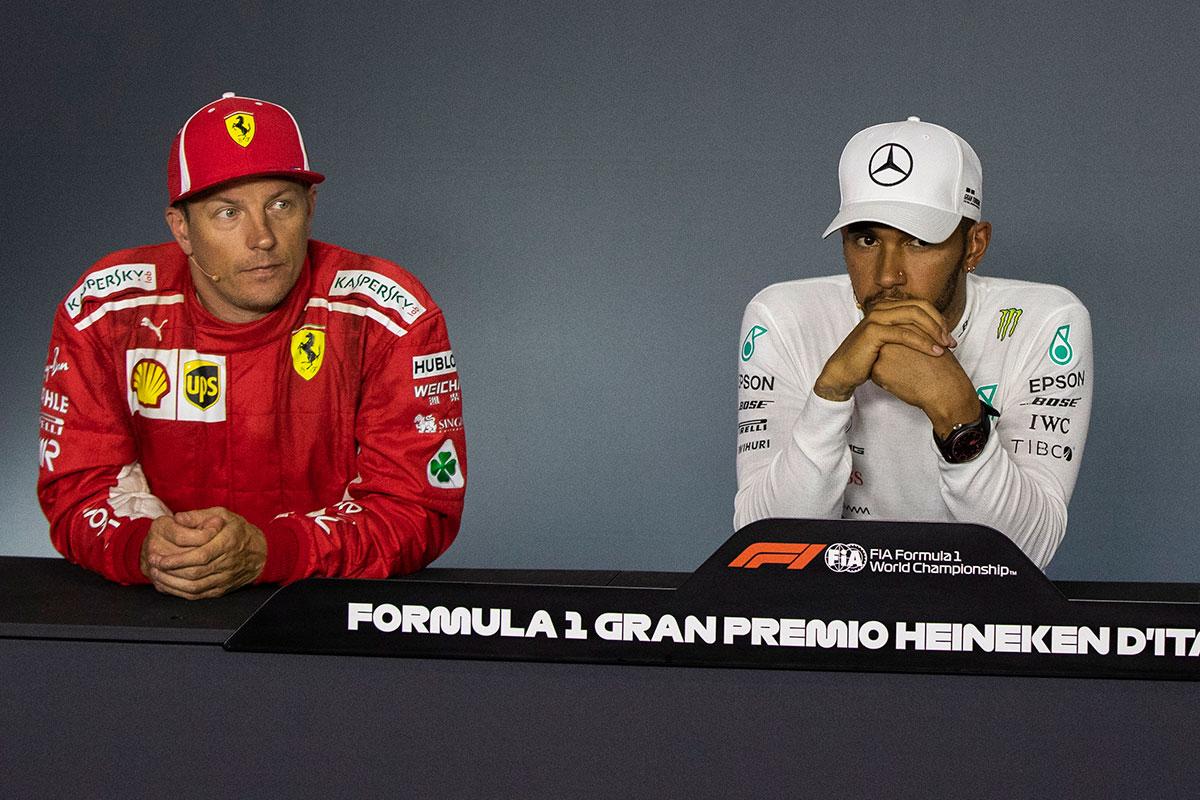 F1 Topic:ハミルトン、イタリアGP決勝記者会見でライコネンの引退について語る