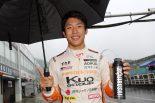 国内レース他   全日本F3第6ラウンド岡山:雨のなか坪井翔が第13戦/第14戦のポールポジションを獲得