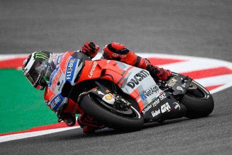 MotoGP   MotoGPサンマリノGP予選:ロレンソがレコード更新で連続ポール。サテライトのミラーが2番手につけドゥカティ1-2