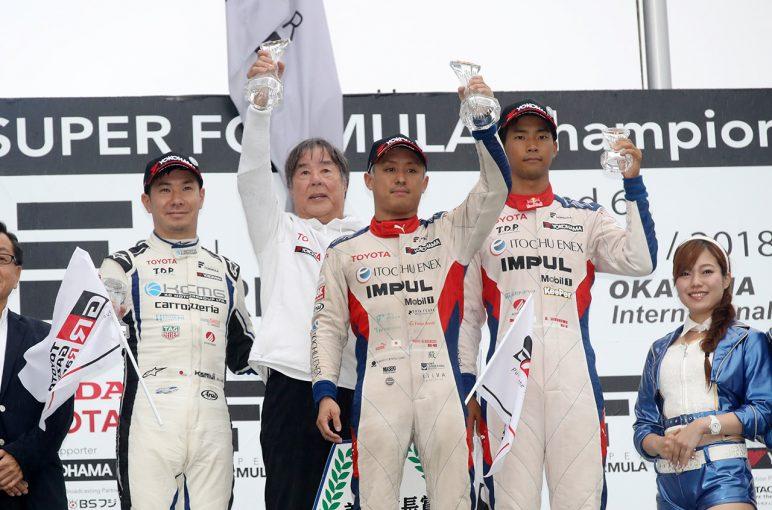 スーパーフォーミュラ第6戦岡山決勝