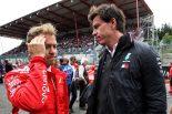 F1 | イタリアメディアから批判受けるベッテルを、メルセデス代表が擁護