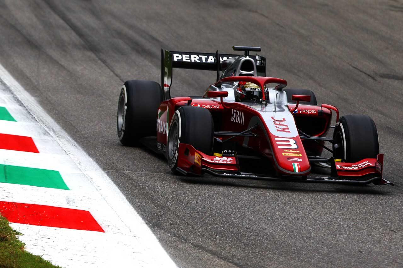 プルタミナ・プレマ・セオドール・レーシング FIA F2第10戦イタリア レースレポート