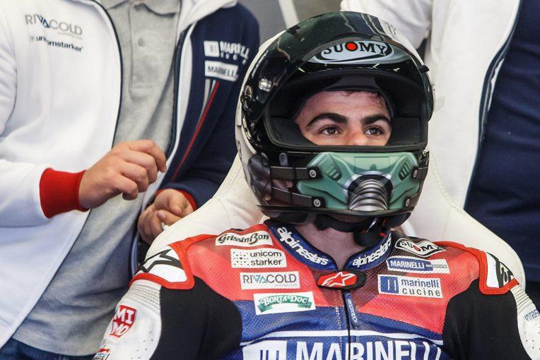 所属チームとの契約終了となったロマーノ・フェナティ