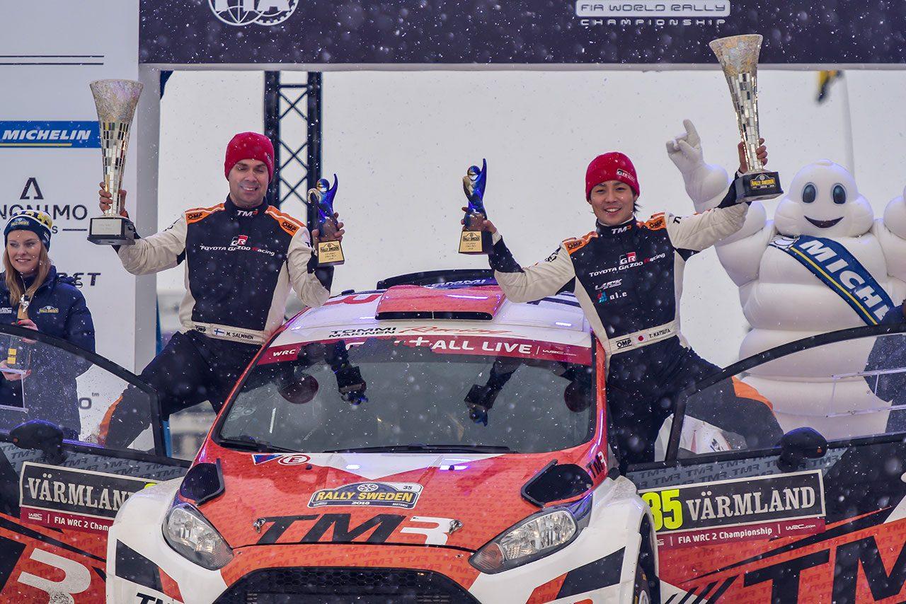 WRC:トヨタ、ラリー育成ドライバーに勝田貴元を選出。「日本人ドライバーがヤリスWRCで走る姿」に一歩前進