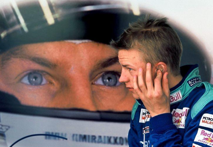 2001年にザウバーからF1にデビュしたキミ・ライコネン