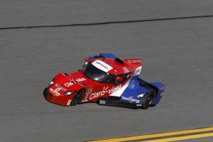 クーペ化されIMSAウェザーテック・スポーツカー・チャンピオンシップに参戦したデルタウイング