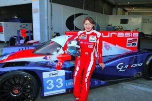 2017年にユーラシア・モータースポーツからAsLMSに参戦した井原慶子