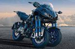 MotoGP | ヤマハ、大型3輪バイクのNIKENを受注生産で発売。9月13日から予約開始