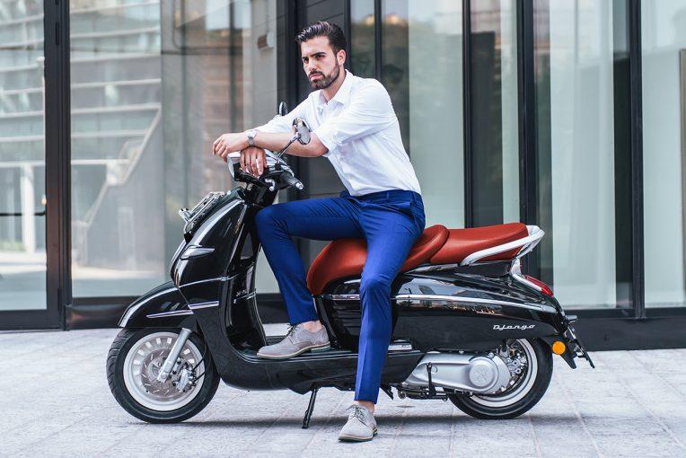 MotoGP | ADIVA、プジョースクーターのジャンゴ125ヘリテイジ特別仕様車を30台限定で発売