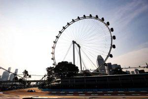 2018年F1第15戦シンガポールGP フリー走行1回目 ピエール・ガスリー(トロロッソ・ホンダ)